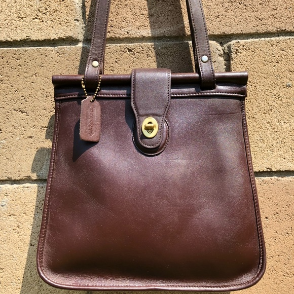 f4480cfd1c Coach Bags | Vintage Brown Weston Shopper 9021 | Poshmark